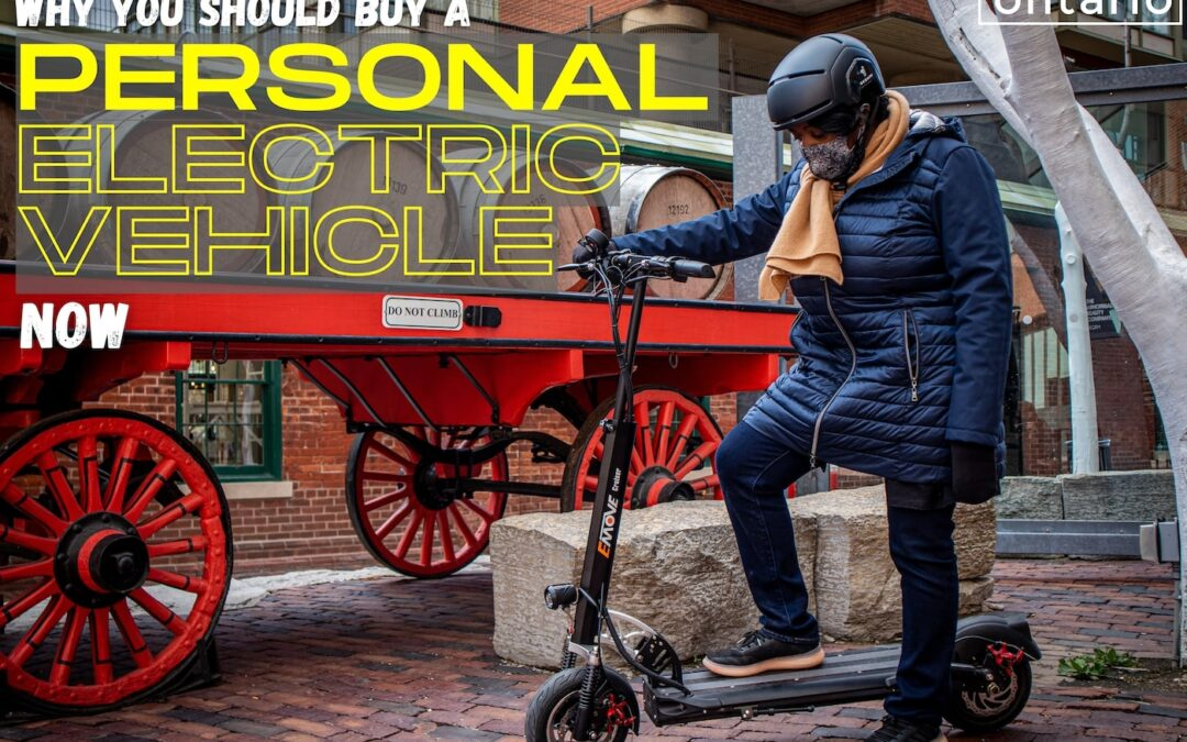 Why you should buy a Personal Electric Vehicle now
