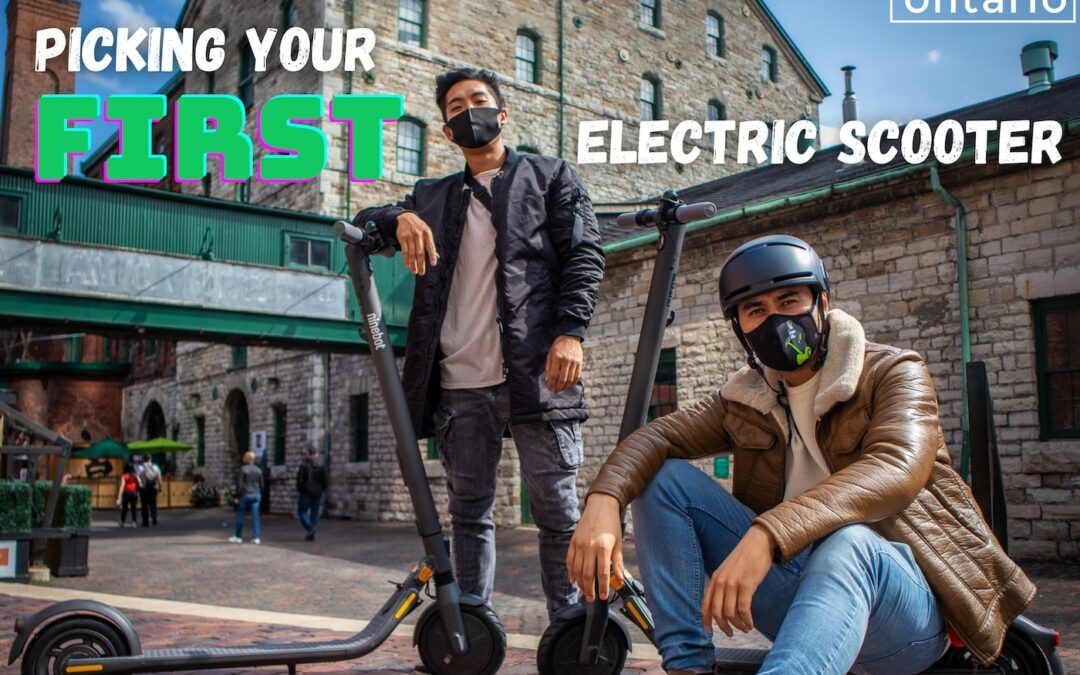 Picking Your First Electric Scooter