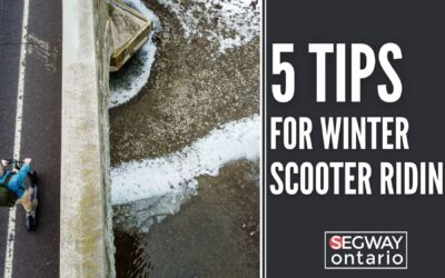 5 Tips for Winter Scooter Riding