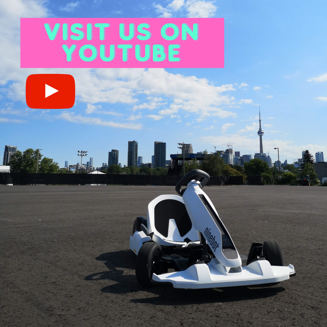 Visit Segway of Ontario on Youtube and watch our latest videos.