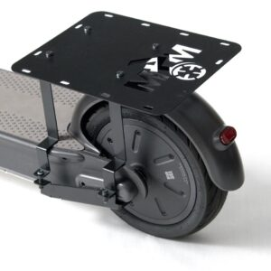 The MAXPorter by More4Motion is the ideal solution to carry bags, grocery or other cargo on your Ninebot Segway Kickscooter MAX.